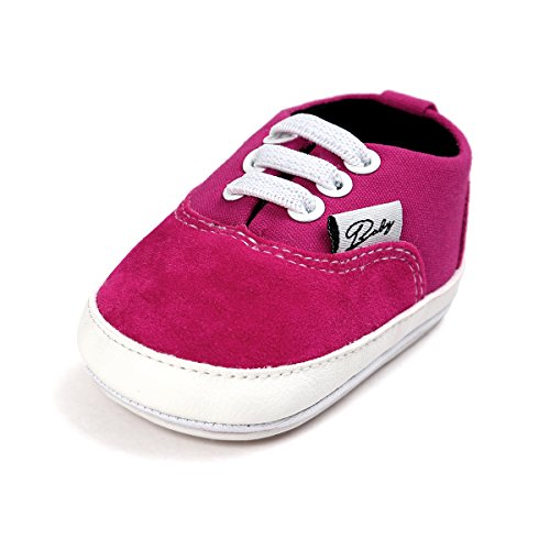 d22a1a2f183193 BENHERO Baby Boys Girls Canvas Toddler Sneaker Anti-Slip First Walkers  Candy Shoes 0-