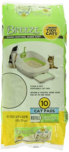 Tidy Cats Breeze Refill Cat Pads, Pack of 10 Pads
