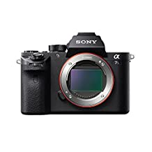 Sony ILCE7SM2/B Full-Frame Mirrorless Interchangeable Lens Camera (Black)