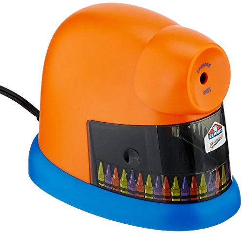 EPI1680 - Elmer's CrayonPro Electric Crayon Sharpener with Replacable Blade