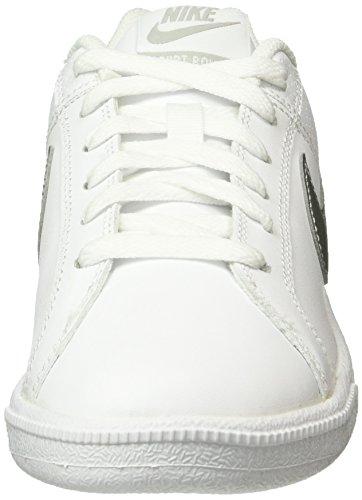 para Wmns Metallic Silver NIKE Court Royale Blanco Zapatillas Mujer White 4xqIO