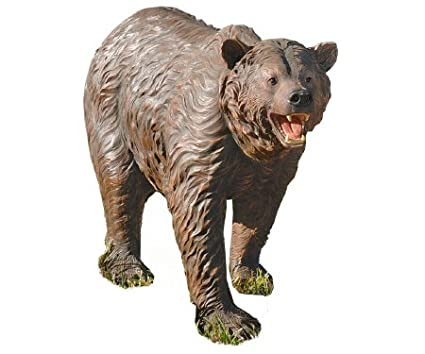 Design Toscano Grand Scale Bear Garden Statue