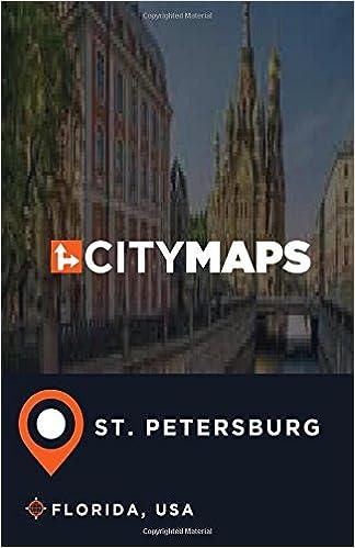 Map Of St Petersburg Florida.City Maps St Petersburg Florida Usa James Mcfee 9781545234815