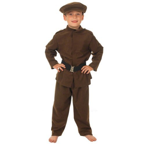 Tommy Atkins WWI Soldier Costume 8-10 Years by Charlie Crow