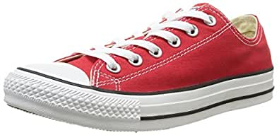 Converse Men's Chuck Taylor All Star Low Top Sneaker Red 16 M