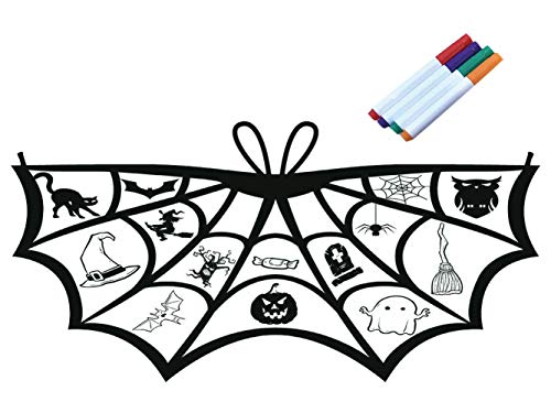 Kids Coloring for Bat Wings Costumes Crafts Halloween Party Masquerade Costumes Accessories for Little Girls]()
