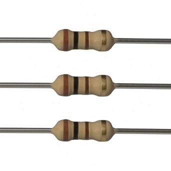 E Projects 100 Ohm Resistors 1 4 Watt 5 Choose Quantity Amazon Com Industrial Amp Scientific