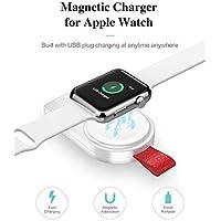 ¡¡¡El Mejor Regalo!!! Junshion Cargador inalámbrico USB magnético Cargador Dock Stand Holder para Apple Watch/iWatch Series 4 40 / 44mm Electrónica Gadgets