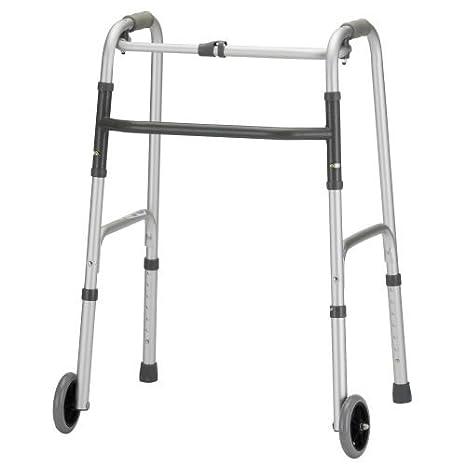"Amazon.com: Nova liberación Plegable Walker 5"" ruedas ..."