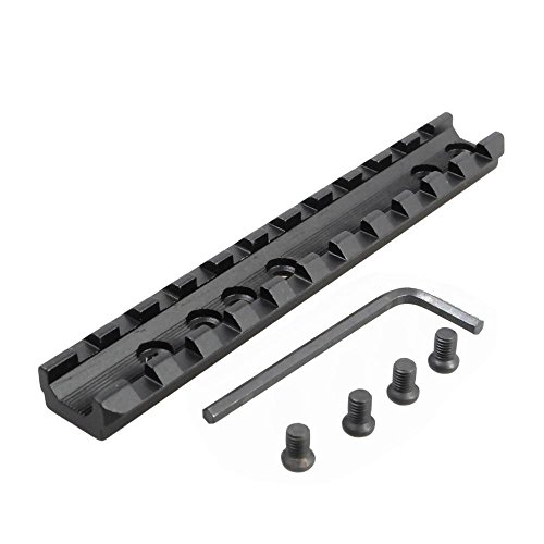 LVLING Aluminum Tactical 11 Slots Picatinny/Weaver Rail Sight Scope Mount + Wrench For Marlin Rifles (Lever Walther Action Rifle)