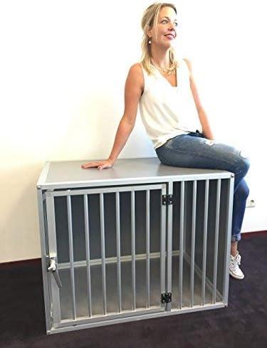 RHRQuality Hundebox M3TL Aluminium Hundekäfig