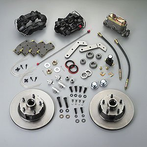 SSBC A152 Front Drum to Disc Brake Conversion Kit