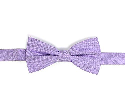 Ben Sherman Men's Bow Tie Lavendar Purple Silk Twill Bowtie
