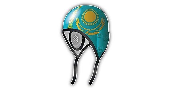 Amazon.com: KW Vinyl Kazakhstan Flag Water Polo Cap Truck ...