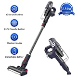 Best Cordless Stick Vacs - NOVETE Cordless Stick Vacuum, Ultralight 2-in-1 Cleaner Review