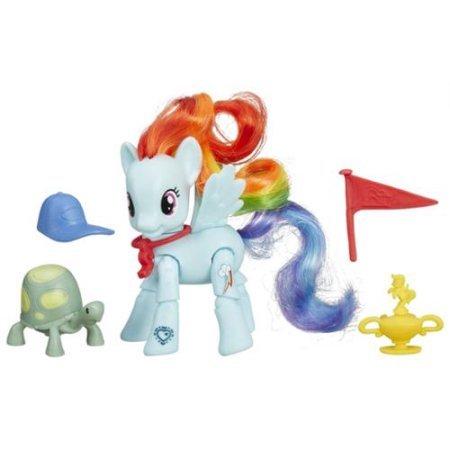 My Little Pony Explore Equestria Action Figure: Winning Kick Rainbow Dash