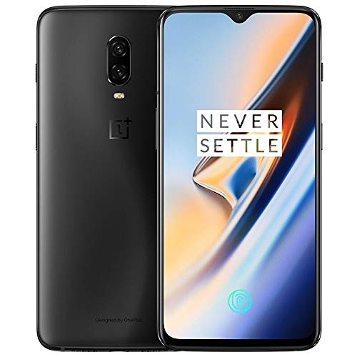 OnePlus 6T 256GB Storage + 8GB Memory Factory Unlocked 6.41 inch AMOLED Display Android 9 - Midnight Black US Version