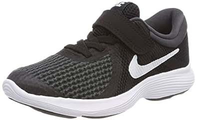 Nike Australia Revolution 4 (PS) Fashion Shoes, Black/White-Anthracite, 1 US