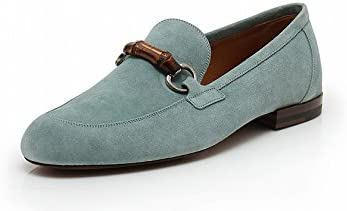 Casual Shoes Suede Bamboo Light Blue