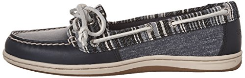con Zapato para cordones DENIM M 5 Sperry 5 Firefish mujer Rg6gwq