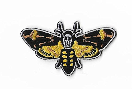 Silence of the Lambs Patch Embroidered Iron / Sew on Badge Red Dragon Horror Movie Costume Souvenir Applique - Embroidered Lamb