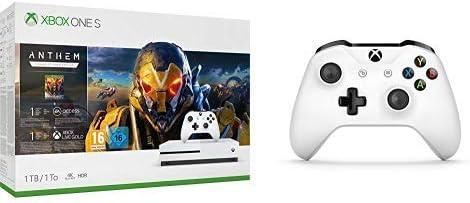 Microsoft Xbox One S - Consola 1 TB + Anthem: Legión Del Alba + ...