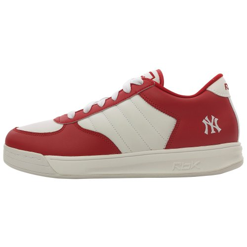 Reebok Men's S. Carter BB Low - Yankees ( sz. 12.0, White/Red ) Reebok Bb