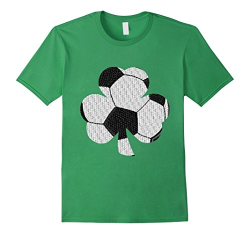 Soccer Shamrock Play Sport St. Patrick's Day Irish Tshirt