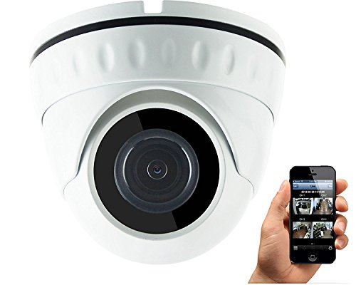 HDView (Economic Series) 4MP Megapixel HD IP Network Camera WDR Motion Detection SD Card Support Wide Dynamic Range IR Cut Filter Infrared Eyeball Dome PoE ONVIF (Dynamic Support Ip)