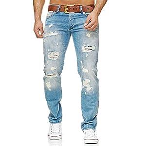 Redbridge Pantalon en Jean pour Homme Jeans Denim déchiré