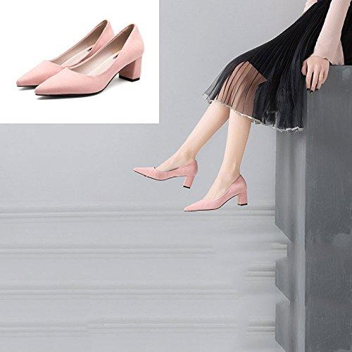 Chaussures Noir pour Travail Chaussures Navetteurs de Noires de Femmes Mariage DKFJKI Women's Chaussures Chaussures Chaussures Paresseuses Escarpins de Pink Scrubs qwgAUnY