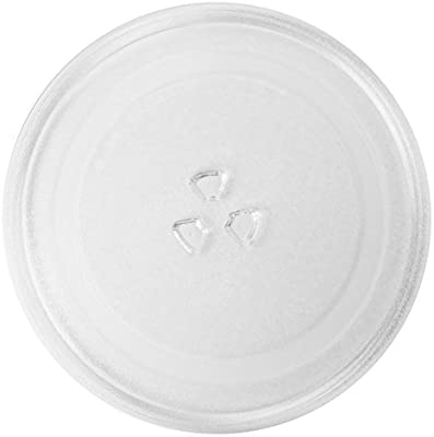 245mm SPARES2GO Glass Turntable Plate for Bosch Microwave