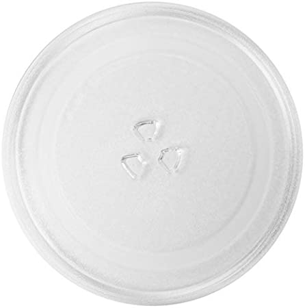 Spares2go Universal Glass Turntable Plate for all makes of Microwave Oven (255mm / 10 Diameter) by Spares2go