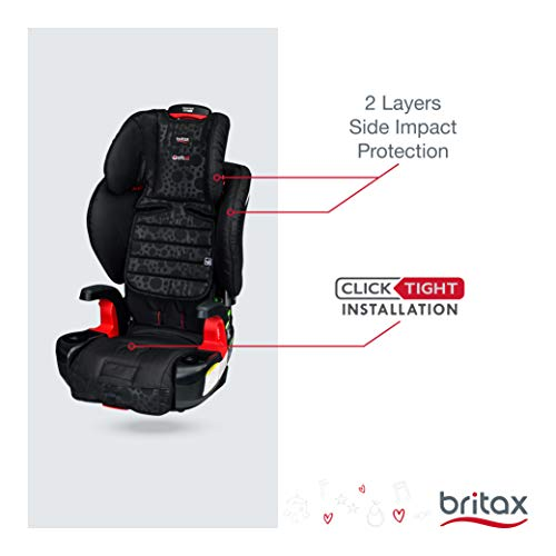 Britax Frontier ClickTight Harness-2-Booster Car Seat - 2 Layer Impact Protection - 25 to 120 Pounds, Bubbles