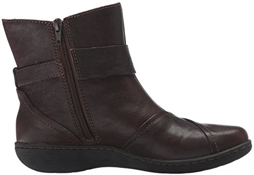 Brown Clarks Women's Boot Leather Fianna Brown Adley PWwRqPZp7