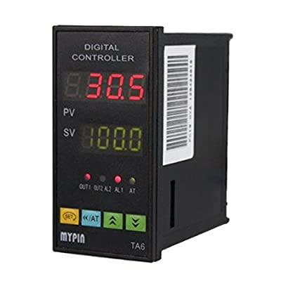 SSR-25DA Solid State Relay + Auto-tuning PID Temperature Controller TA6-SNR + K Type Thermocouple