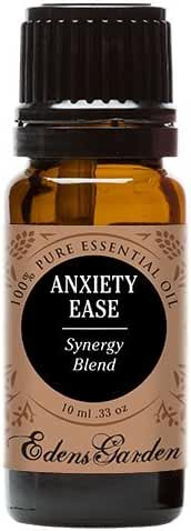 Anxiety Ease Synergy Blend Essential Oil (previously known as Calming) by Edens Garden (Lemongrass, Sweet Orange and Ylang Ylang)- 10 ml