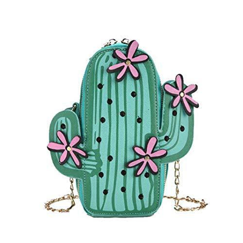 Téléphone Broderie Chaîne Messenger Cactus Sac Bandoulière Sacs Sperrins Femmes Portefeuille Fleur Fille Sac Mini À Bandoulière 5t7vZ18xqw