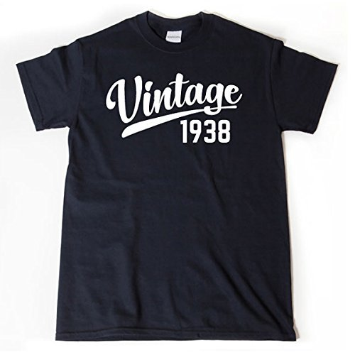 Amazon Vintage Since 1938 Shirt Funny 80th Birthday Gift Customized T Handmade