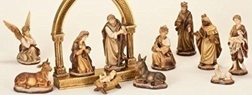 Gold Nativity Set - 7