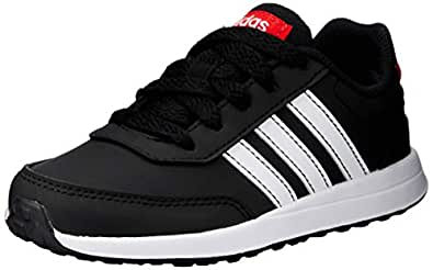 adidas Australia Boys VS Switch 2 Trainers, Core Black/Footwear White/Active Red, 4.5 US
