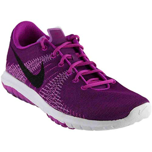 Nike Girls Flex Fury GS Running Casual Shoes, Pink, 7