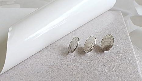 perfk 2x L/üftungsgitter f/ür L/üftungsgitter aus rostfreiem Edelstahl f/ür 75 mm 2,95 Zoll Lochgr/ö/ße