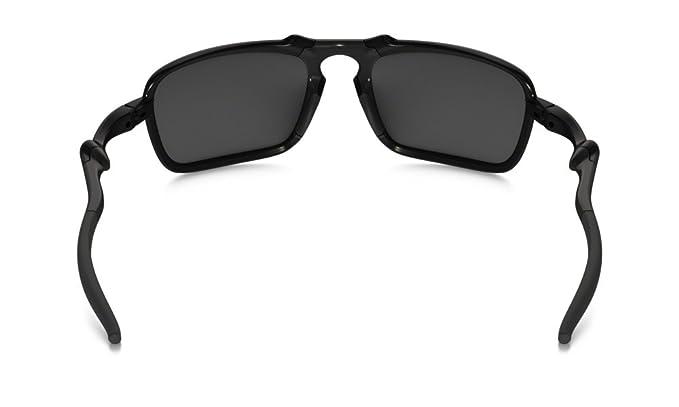 40b24fb4248 Amazon.com  Oakley Men s (a) Badman Polarized Iridium Rectangular ...