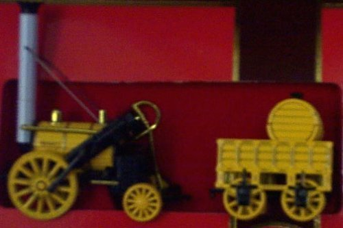 1829 Stephenson Rocket - Matchbox Models of Yesteryear 12 1829 Stephensons Rocket - Limited Edition - Yellow and Black - 1:64 Scale - Diecast