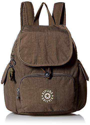 Kipling Citypack Xs Backpack, Adjustable Backpack Straps, Zip Closure Backpack, soft earthy beige