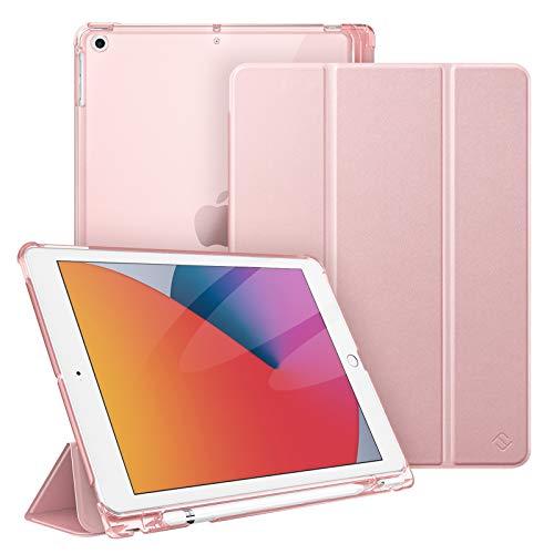 Funda Con Portalapices Para iPad 8th Gen (2020) / 7th-rosa