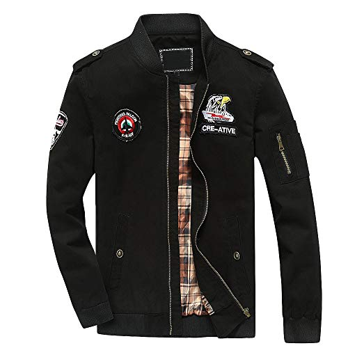 Seaintheson Mens Jacket, Men's Autumn Winter Casual Solid
