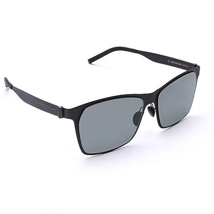 GY Gafas de Sol de Resina, Lentes polarizadas de Nailon, Estructura de Soldadura sin