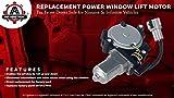 Power Window Lift Motor - Front Driver Side Left